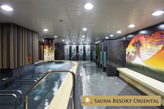 くまポンで赤坂見附の風呂&サウナ「SAUNA RESORT ORIENTAL」の3時間が1000円で入れる。