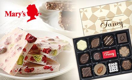 グルーポンでメリーチョコレートオンラインショップの4000円分割引クーポンが2000円で販売中。
