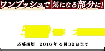 シロエの白髪染め「シロエヘアカラーEXクリーム」が抽選で5000名に当たる。~4/30。