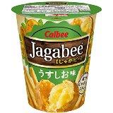 アマゾンアウトレットでカルビー Jagabee(ジャガビー) うすしお味カップ 40g×12個が1097円。1個91円。その他じゃがりこシリーズが投げ売り中。