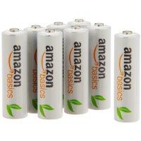アマゾンタイムセールでAmazonベーシック 充電式ニッケル水素電池単3形8個、第4形8個、アルカリ乾電池単3形48個がタイムセール予定。