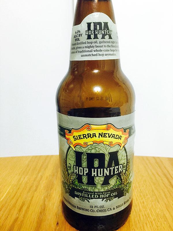 カリフォルニアビールのSIERRA NEVADA IPA HOP HUNTERを買ってみたぞ。