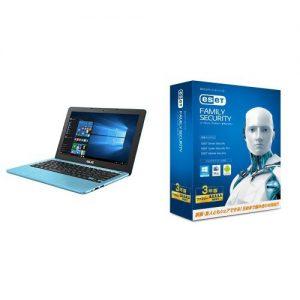アマゾンタイムセールでASUS ノートブック R206SA-FD0020T (Win10/Celeron N3050/11.6inch/mem2G/HDD500G) ESET付きがタイムセール予定