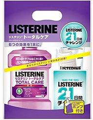 アマゾンタイムセールでリステリントータルケア1000mlが割引クーポンを配信中。口臭予防にも使えるぞ。