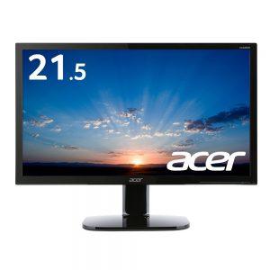 アマゾンタイムセールでAcer ディスプレイ モニター KA220HQbmidx 21.5インチ/FullHD/HDMI端子付/スピーカー付/フリッカーフリーが9980円?