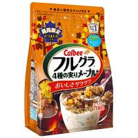 アマゾン特選タイムセールでカルビー フルグラ4種の実りメープル味 700g×6袋が3900円、1袋650円。