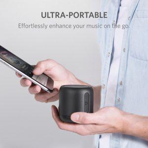 アマゾンタイムセールでBluetoothポータブルスピーカー Anker SoundCore miniが2999円⇒2399円。