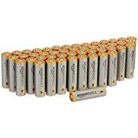 アマゾン特選タイムセールで「Amazonベーシック」のアルカリ乾電池が20-50%OFF。ダイソーより安いぞ。