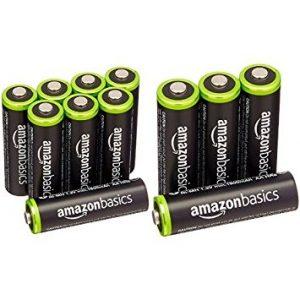 アマゾンタイムセールでAmazonベーシック 充電式ニッケル水素電池 単3形12個パック (最小容量1900mAh、約1000回使用可能)が2396円⇒2093円。