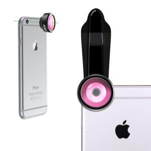 アマゾンでAUKEY スマホ カメラレンズキット 3in1 (魚眼、マクロ、広角)PL-A3が1299円⇒999円となる割引クーポンを配信中。