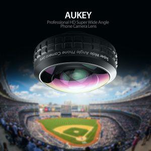 アマゾンタイムセールでAUKEY 超広角レンズ 238°0.2×ワイドレンズ PL-WD02が3299円⇒2639円でタイムセール予定。