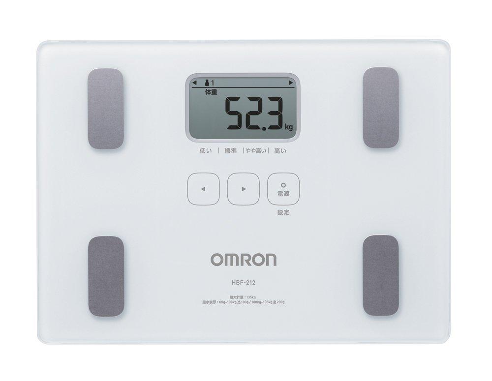 アマゾンで売れ筋No1のオムロン 体重・体組成計 カラダスキャン HBF-212が2601円⇒1650円。
