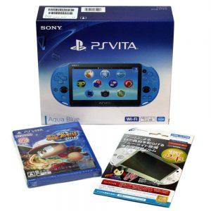 アマゾンでPlayStation Vita Wi-Fiモデル アクア・ブルー(PCH-2000ZA23)+[PS Vita]実況パワフルプロ野球2016が31000円⇒23000円。