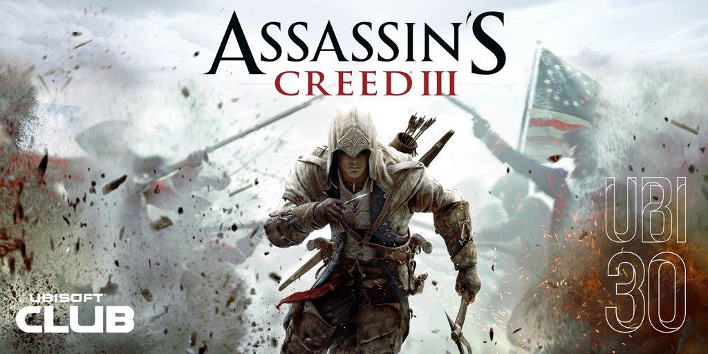 Ubisoftでアサシンクリード3が無料配信中。いつの間にかトム・クランシー レインボーシックスのRed Storm Entertainmentを買収していた。~1/4。