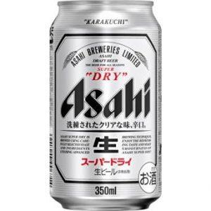アマゾンサイバーマンデーでアサヒ スーパードライ 350ml缶×24本が4328円、1本180円。