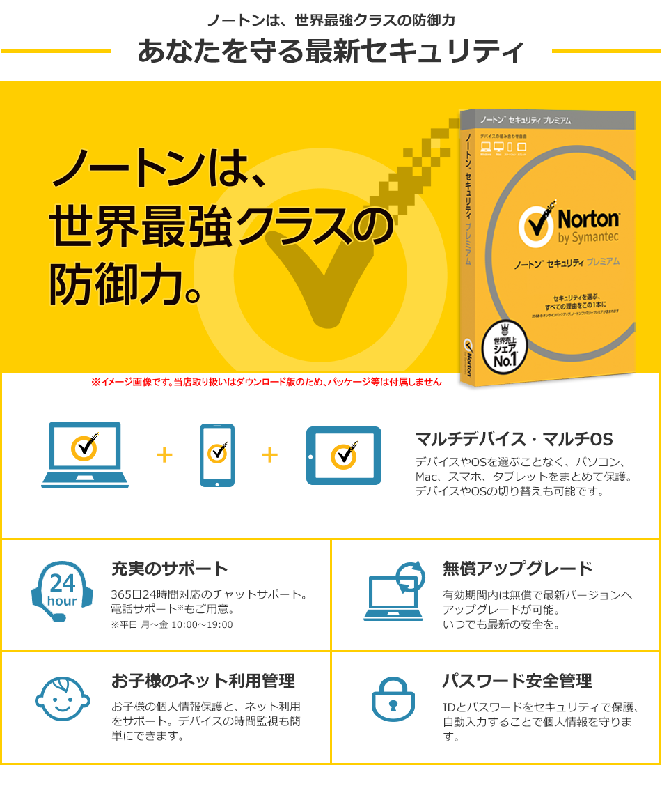 Vectorでノートン セキュリティ プレミアム 3年3台版が14342円⇒4980円。アマゾンでは11635円なのでぶっちぎりのコスパ。