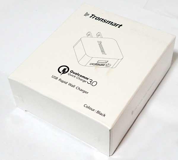 【画像・電流電圧レビュー】Quick Charge 3.0対応Tronsmart USB急速充電器とXperia Z5 Compact SO-02H(QC2.0対応)で充電時の電流電圧を比較したぞ。