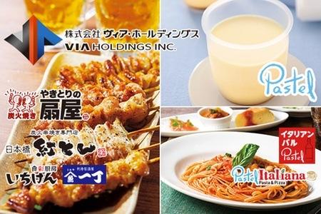 グルーポンで「やきとりの扇屋」「パステル」「紅とん」など470店舗で使える5000円券が3750円。