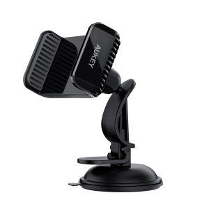 【本日限定】AUKEY 車載ホルダー スマホスタンド ゲル吸盤式 360度回転可能 HD-C29が999円⇒499円で販売中。