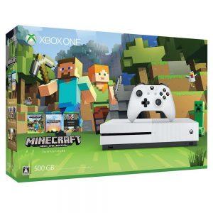アマゾンでXbox One S 500 GB (Minecraft 同梱版) が32078円で予約受付中。⇒25989円、最大1万円引きでセール中。