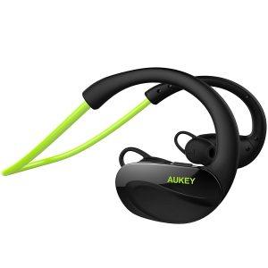 アマゾンでAUKEY Bluetooth ヘッドセット ワイヤレススポッツイヤホン EP-B34が2599円⇒1299円。