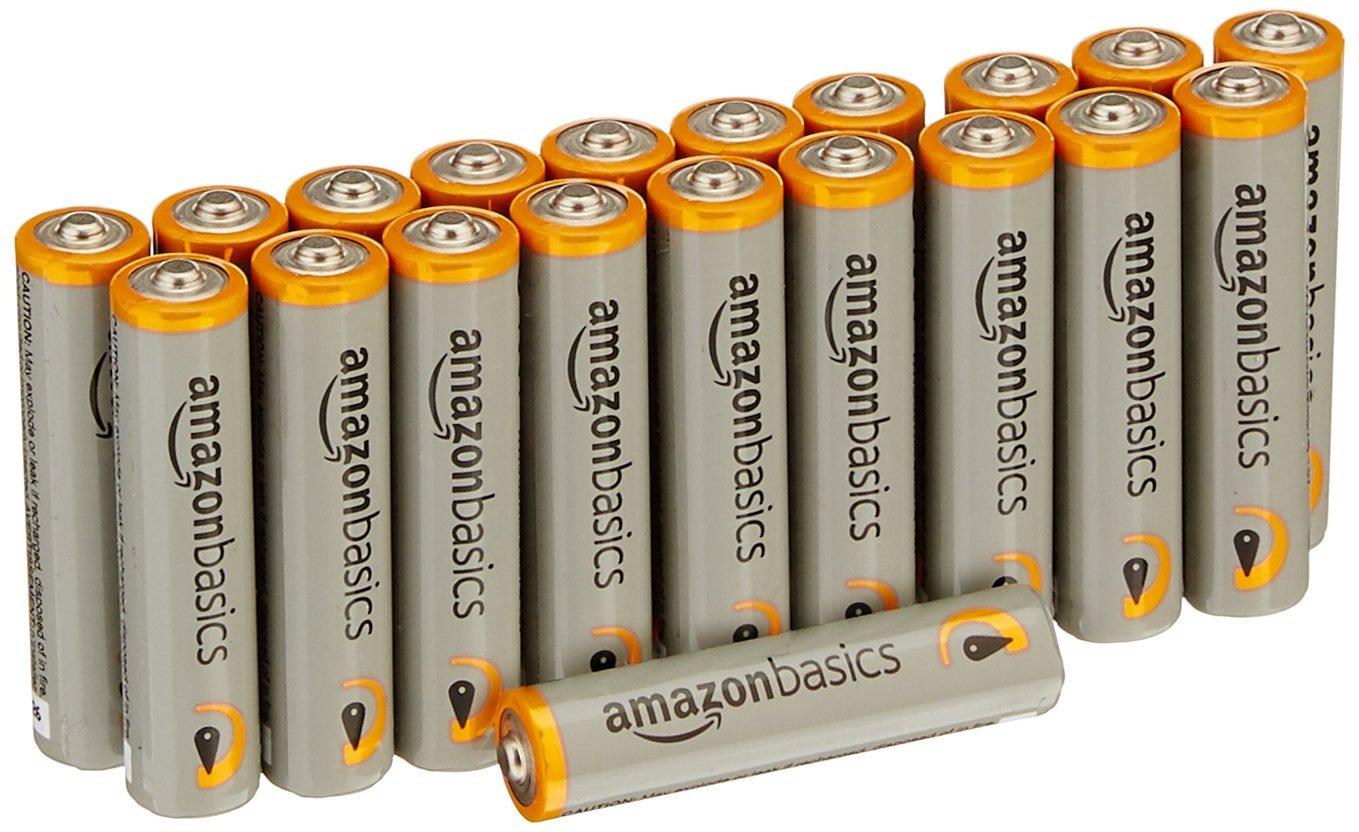 Amazonベーシック アルカリ乾電池 単3形48個パック、単4形20個パックがそれぞれアマゾンタイムセールで投げ売り中。