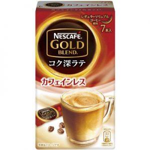 LOHACOでネスカフェ ゴールドブレンド コク深ラテ カフェインレス 6.5g 1箱(7本入)が99円。