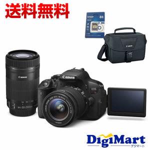 楽天スーパーDEALで「デジタル一眼レフカメラ EOS Kiss X7i ダブルズームキット」が68980円、13796ポイントバック。実質55000円。本日10時~。
