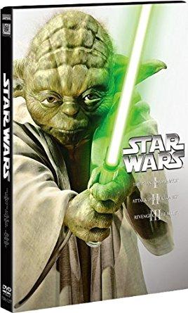 アマゾンでスター・ウォーズ プリクエル・トリロジー DVD-BOX<3枚組> (初回生産限定)が5132円⇒2119円。