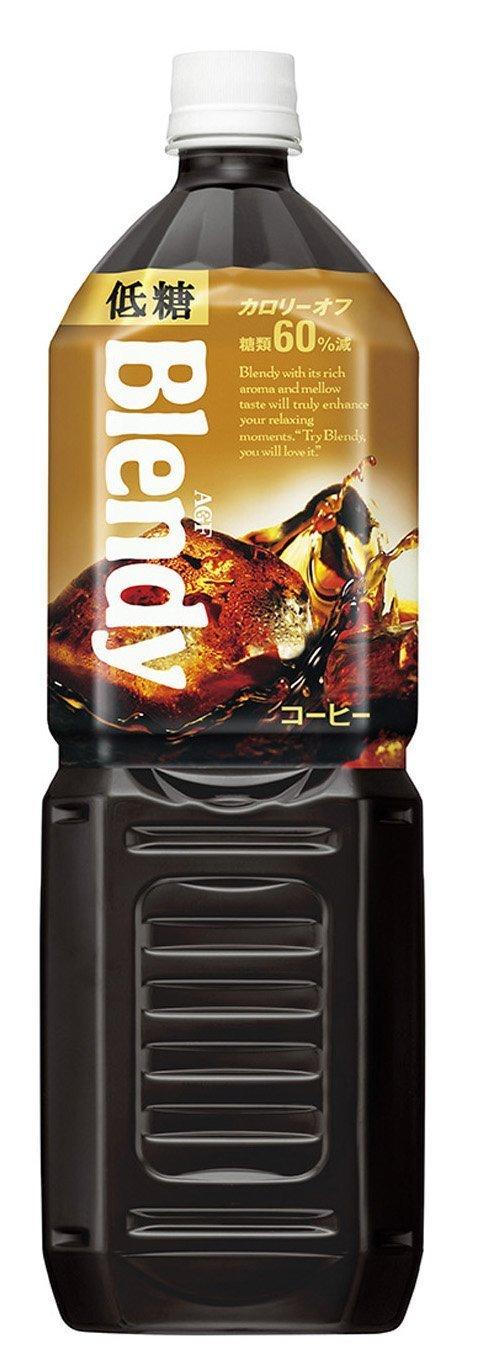 アマゾンタイムセールでAGF ブレンディ ボトルコーヒー 低糖 1.5L×8本が2151円⇒1505円。1本188円。
