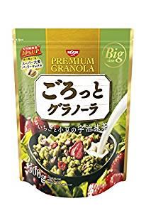 日清シスコ ごろっとグラノーラいちごと小豆の宇治抹茶 500g×6袋が4342円からタイムセール。