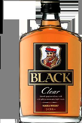 ニッカウヰスキーの「ブラックニッカ クリア」が抽選で10万名に当たる。コンビニで引き換え可能。~3/9 10時。