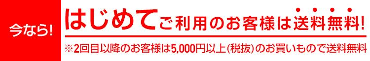 ユニクロオンラインで初めて買うと送料無料。2回目以降は5000円未満だと486円。