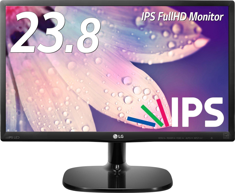 アマゾン特選タイムセールでLG モニター ディスプレイ 24MP48HQ-P 23.8インチ/フルHD/IPS 非光沢が14980円⇒12480円。