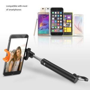 アマゾンでAukey Bluetooth 自撮り棒 セルカ棒 HD-P7が999円⇒699円。