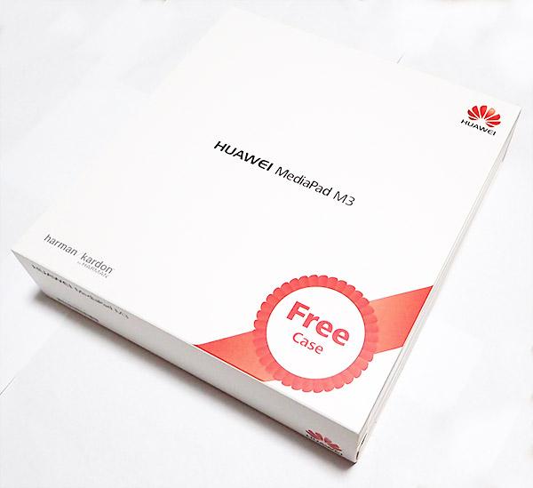 【写真レビュー】SIMフリーのHuaweiタブレット MediaPad M3 LTEプレミアムモデルが届いたぞ。ベンチマークまとめ。