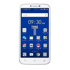 楽天のイオシスでSIMフリー、LTE未対応スマホのTONE m14が3980円で販売中。技適があるとFOMAバリュープラン契約に使える。