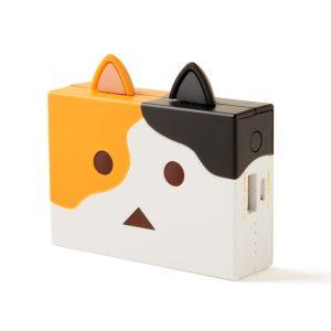 アマゾンダンボーの猫版、cheero Power Plus nyanboard ver. 6000mAhが2950円⇒2210円でセール中。耳がいらない。
