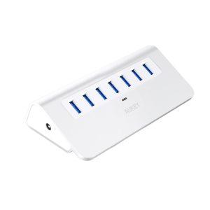 アマゾンタイムセールでAUKEY USB3.0 ハブ 7ポート CB-H4が3999円⇒3199円。