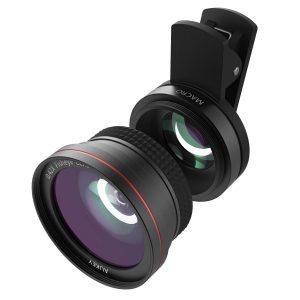 【本日限定】アマゾンでAUKEY スマホ カメラレンズキット 2in1 (10×マクロ、180°魚眼レンズ)  PL-F1が3299円から半額となる割引クーポンを配信中。