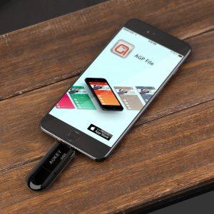 アマゾンでAUKEY Lightning対応USB 3.0メモリ  64GB CB-UD2が6799円⇒5599円。