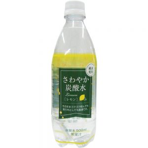 アマゾン限定の木村飲料 さわやか炭酸水レモン 500ml×24本がセール中。