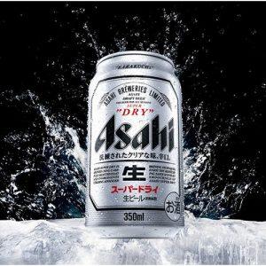 アマゾンでアサヒ スーパードライ 350ml缶×24本が4641円、1本191円。東京都23区内イオンは203円。