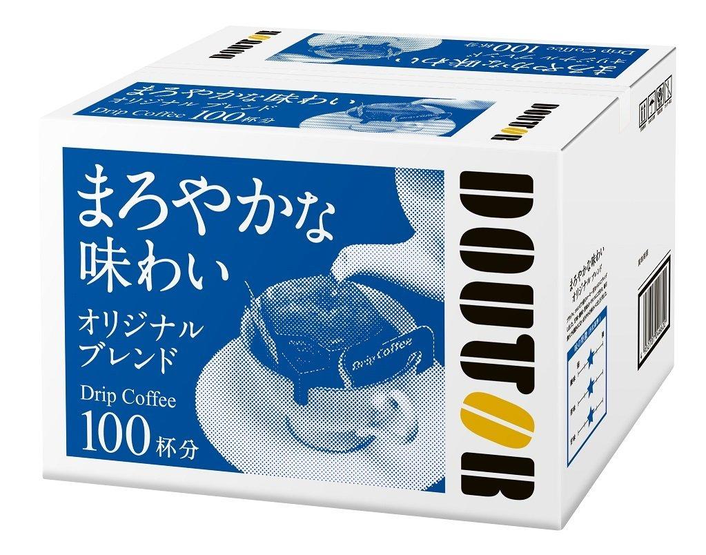 アマゾン特選タイムセールでドトールの「オリジナルブレンド ドリップコーヒー 100杯」が2882円。1杯29円。