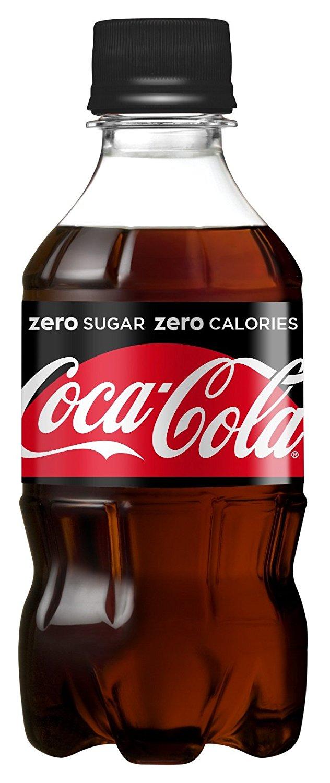 アマゾンでコカ・コーラ ゼロ 300ml ペットボトル×24本が1744円⇒1444円、1本60円。コカ・コーラのカフェインは100mlあたり10mg。