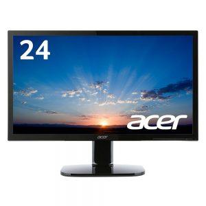 アマゾンタイムセールでAcer ディスプレイ KA240Hbmidx 24インチが13979円⇒11323円。