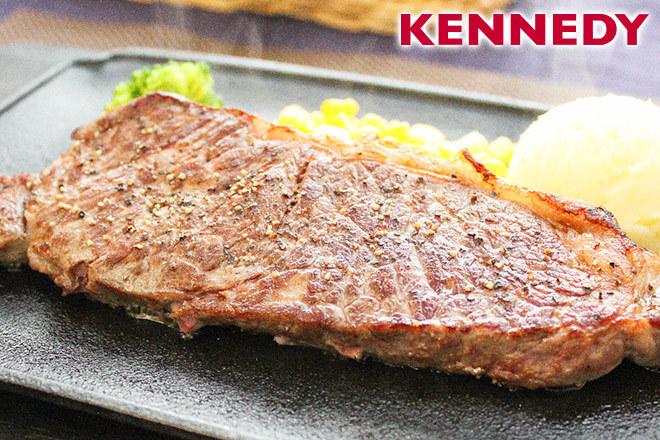 くまポンでステーキ カフェ ケネディの5000円分チケットが1000円。