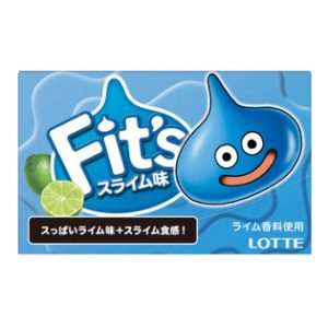 サンプル百貨店でロッテ Fit's<スライム味> 12枚×100個が1980円。