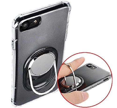 アマゾンでMAMIO iphone7 クリアケース 落下防止 回転リング付きが1980円⇒380円送料無料。