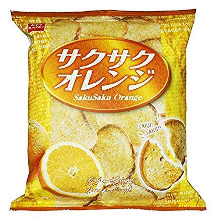 アマゾンでおやつカンパニー サクサクオレンジ 52g×12袋が1501円⇒1501円、1袋87円。